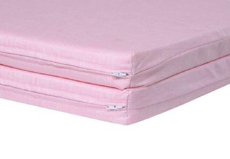 Kidicomfort Teepee Foldable Mattress 2 Pink Accessoires