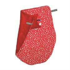 Cheeky Chompers Cheeky Blanket in Red Stars