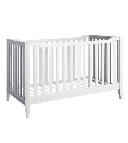 baby relax aaden 3in1 convertible crib in white u0026 grey crib baby store