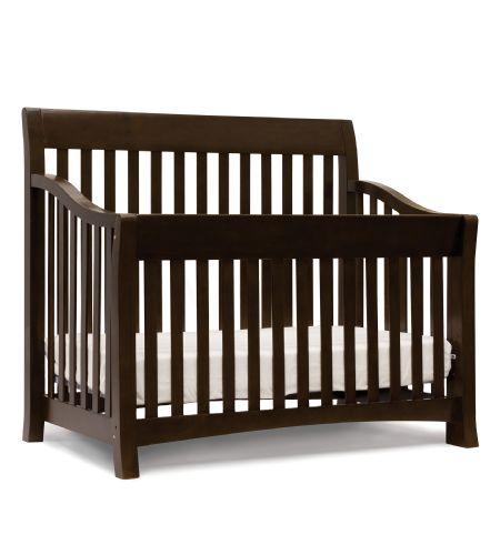 baby sleigh dark bily in en store s canada espresso product crib