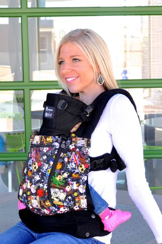 9121afcb0eb Lillebaby All Seasons in TokiDoki Rebel - Baby Carrier - Canada s ...