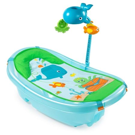 Summer Infant Ocean Buddies Newborn to Toddler Baby Tub with ...