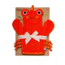 Zoocchini Bath Mitt in Charlie the Crab