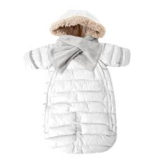 7AM Enfant Doudoune 100 Medium (3-6m) in White