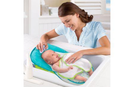 summer infant fold 39 n store bath sling bath tubs canada 39 s baby store. Black Bedroom Furniture Sets. Home Design Ideas