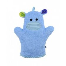 Zoocchini Bath Mitt in Henry the Hippo