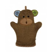 Zoocchini Bath Mitt in Max the Monkey