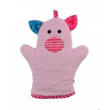 Zoocchini Bath Mitt in Pinky the Piglet